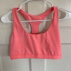 Fabletics pink sports bra size L